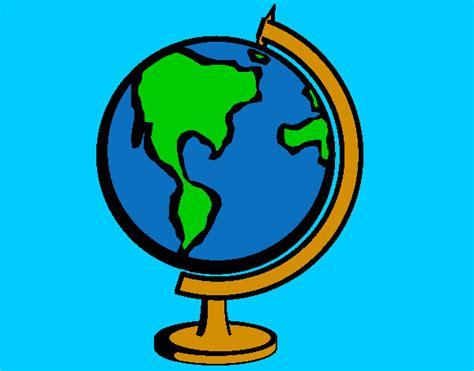 Dibujo de Bola del mundo II pintado por Giulianam en ...