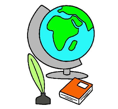 Dibujo de Bola del mundo pintado por Caritochulis en ...