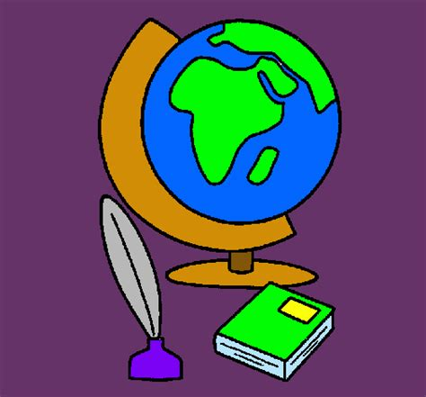 Dibujo de Bola del mundo pintado por Carol en Dibujos.net ...