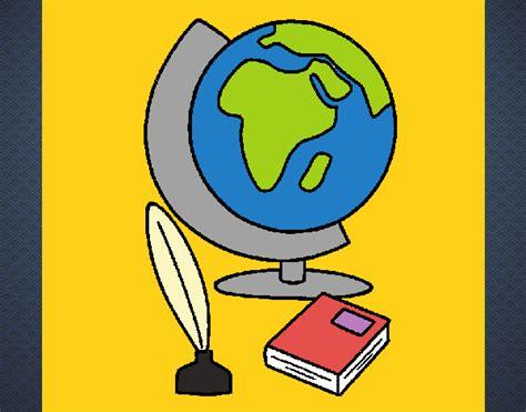 Dibujo de Bola del mundo pintado por en Dibujos.net el día ...