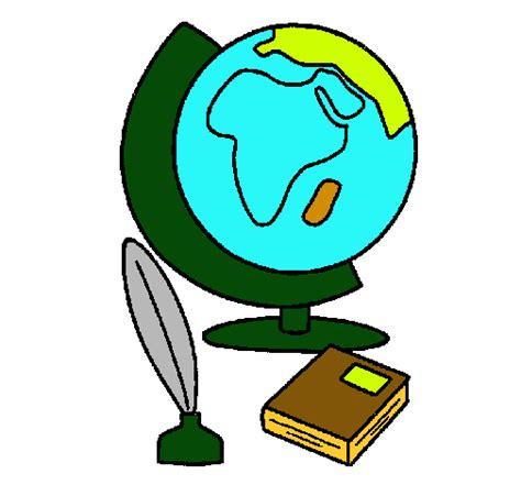 Dibujo de Bola del mundo pintado por Mardelis en Dibujos ...