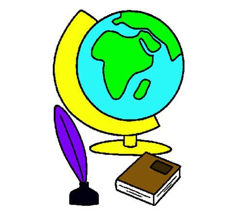 Dibujo de Bola del mundo pintado por Sheslie en Dibujos ...