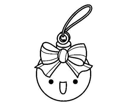 Dibujo de Bola navideña para Colorear - Dibujos.net