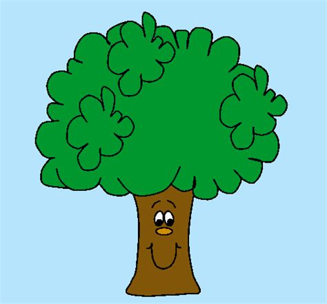 Dibujo de Brócoli pintado por Arbol en Dibujos.net el día ...