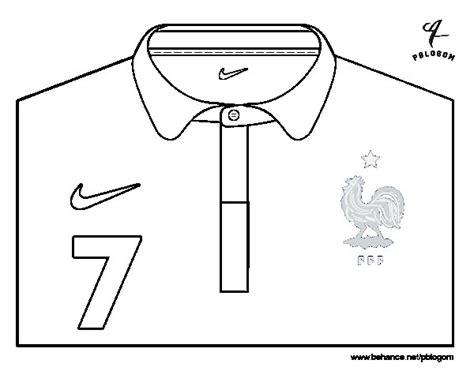 Dibujo de Camiseta del mundial de fútbol 2014 de Francia ...