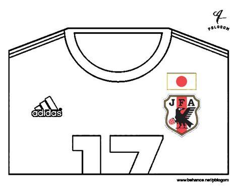 Dibujo de Camiseta del mundial de fútbol 2014 de Japón ...