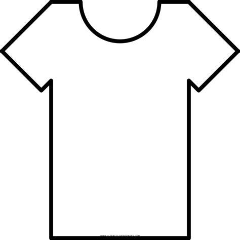 Dibujo De Camiseta Para Colorear - Ultra Coloring Pages