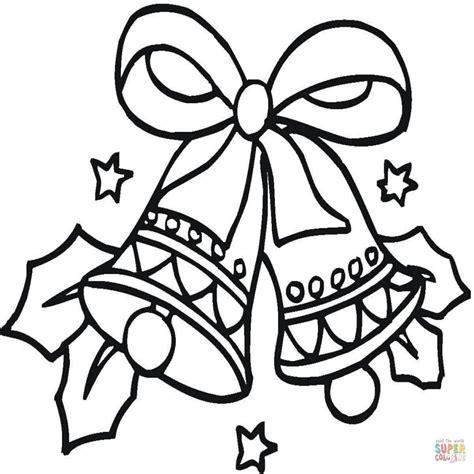 Dibujo De Campanas De Navidad Para Colorear Dibujos Para ...