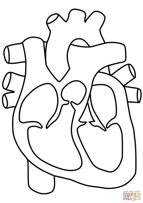 Dibujo de Corazón para colorear | Dibujos para colorear ...
