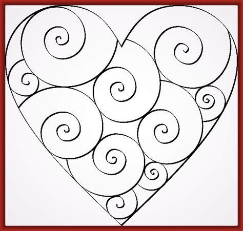 Dibujo de Corazon Para Colorear e Imprimir | Fotos de ...