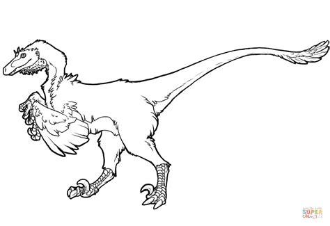 Dibujo de Dinosaurio Raptor para colorear | Dibujos para ...