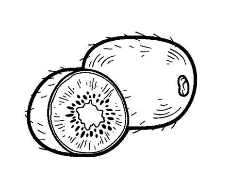 Dibujo de El kiwi para Colorear   Dibujos.net