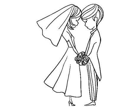 Dibujo de El Marido y la Mujer para Colorear   Dibujos.net