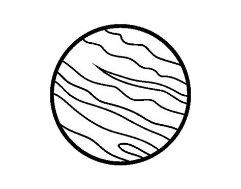 Dibujo de El planeta Júpiter para Colorear - Dibujos.net