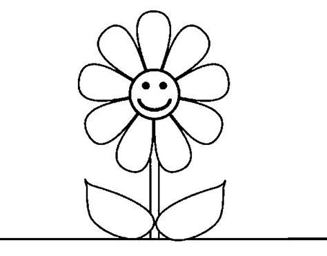 Dibujo de Flor de primavera para Colorear - Dibujos.net