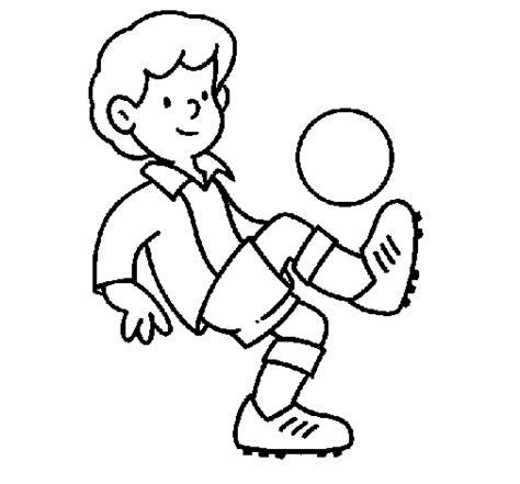 Dibujo de Fútbol para Colorear   Dibujos.net