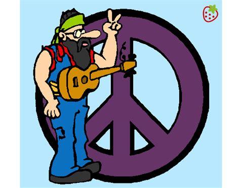 Dibujo de Hippie pintado por Mmmakylu en Dibujos.net el ...