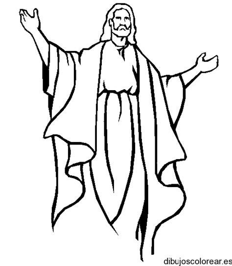 Dibujo de Jesús al resucitar