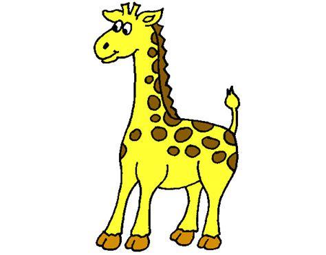 Dibujo de jirafa pintado por Rafaelguti en Dibujos.net el ...