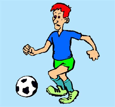 Dibujo de Jugador de fútbol pintado por Futbolsala en ...