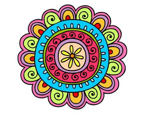 Dibujo de Mandala alegre pintado por Indianaj en Dibujos ...