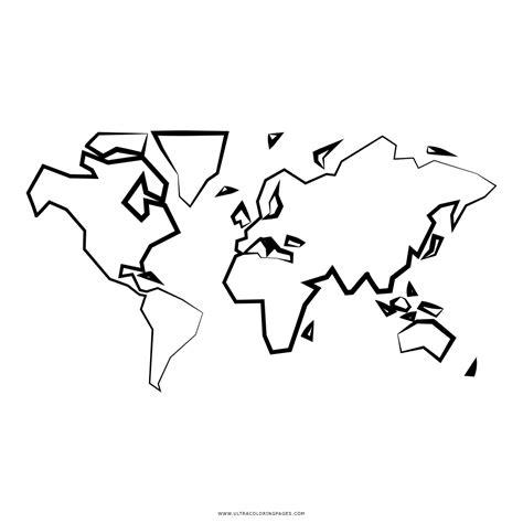 Mapas Para Colorear Del Mundo Cantineoqueteveo