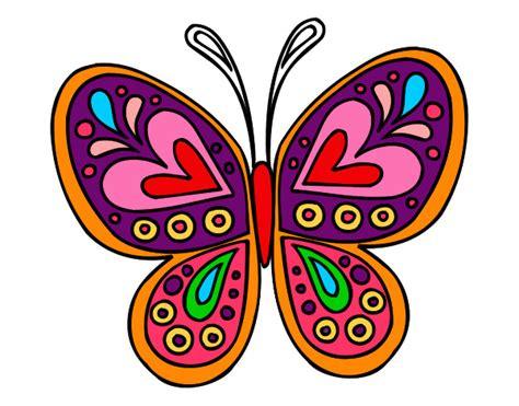 Dibujo de Mariposa pintado por Bia2000 en Dibujos.net el ...