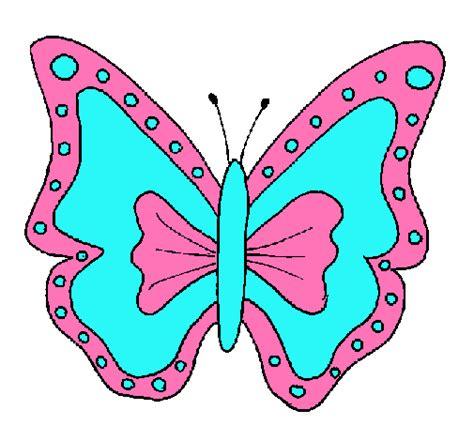 Dibujo de Mariposa pintado por Damaris en Dibujos.net el ...