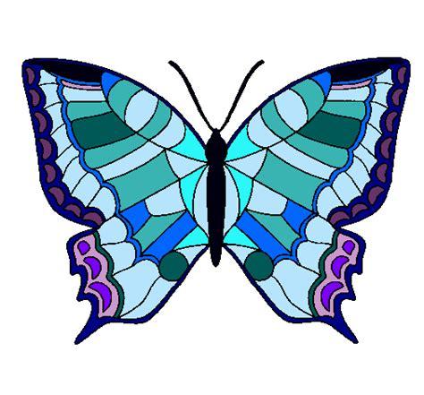 Dibujo de Mariposa pintado por Mariposa en Dibujos.net el ...