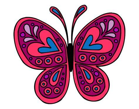 Dibujo de mariposa pintado por Marita1590 en Dibujos.net ...