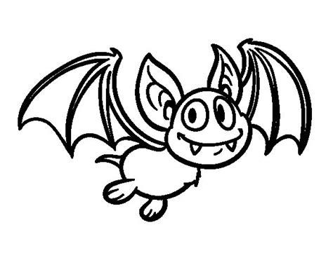 Dibujo de Murciélago - vampiro para Colorear - Dibujos.net