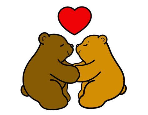 Dibujo de oso de amor - Imagui