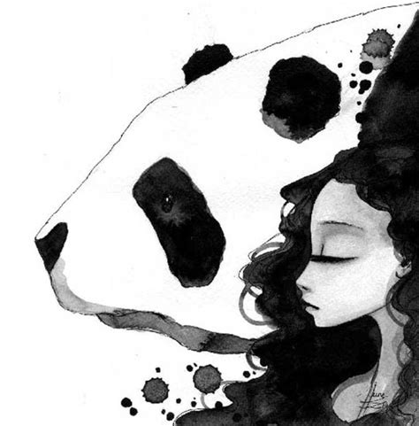 Dibujo de panda | Dibujos | Pinterest | Dibujo y Pandas