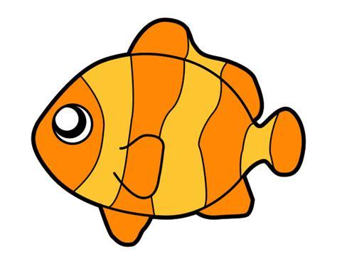 Dibujo de pez payaso pintado por P1a2 en Dibujos.net el ...