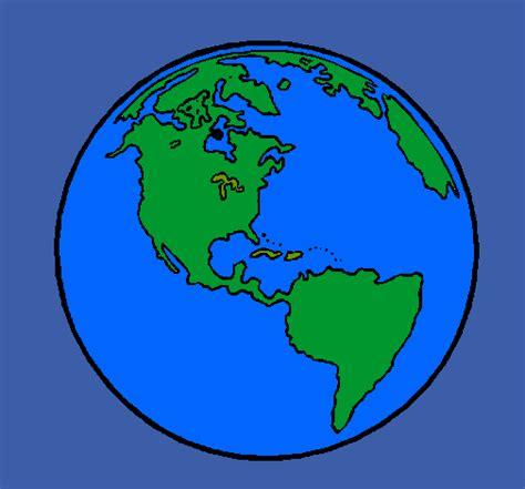 Dibujo de Planeta Tierra pintado por Astridd en Dibujos ...