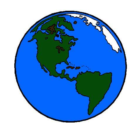 Dibujo de Planeta Tierra pintado por Cca24 en Dibujos.net ...