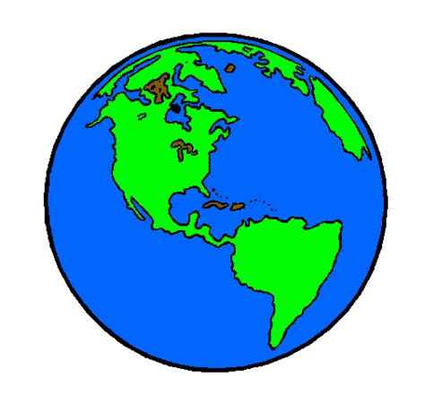 Dibujo de Planeta Tierra pintado por Tierra en Dibujos.net ...