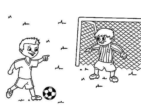 Dibujo de Portero de fútbol para Colorear   Dibujos.net