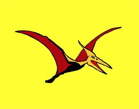 Dibujo de Pterodáctilo pintado por Jefte en Dibujos.net el ...