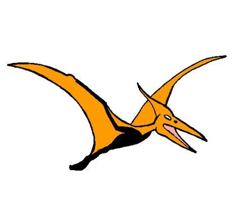 Dibujo de Pterodáctilo pintado por Terodactilo en Dibujos ...