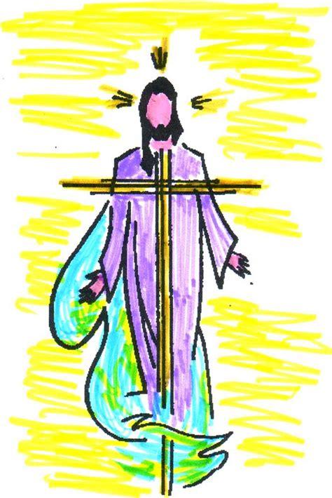 Dibujo de silueta de Jesus   Imagui