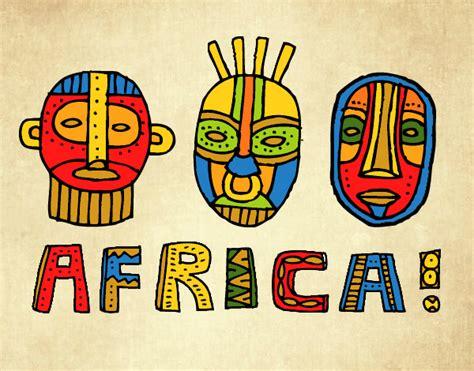 Dibujo de Tribus de África pintado por en Dibujos.net el ...