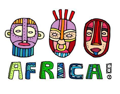 Dibujo de Tribus de África pintado por Fperetti en Dibujos ...