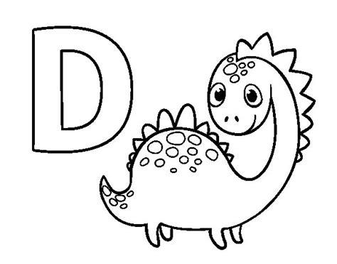 Dibujo De Un Dinosaurio De Cuello Largo Dibujos Para ...