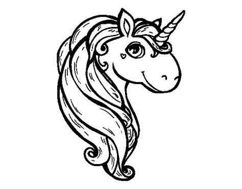 Dibujo de Un unicornio para Colorear   Dibujos.net