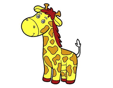 Dibujo de Una jirafa pintado por en Dibujos.net el día 05 ...