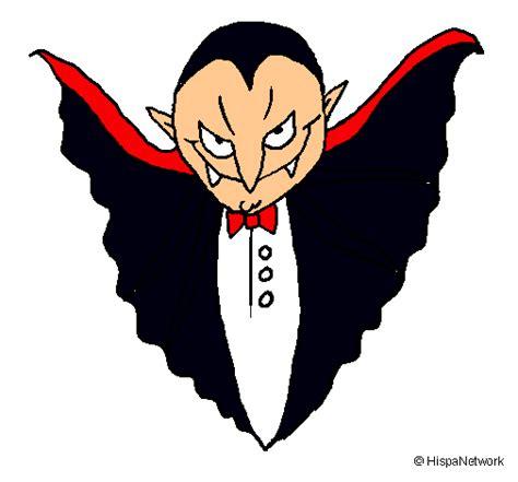 Dibujo de vampiro para Halloween | Fiestas y celebraciones