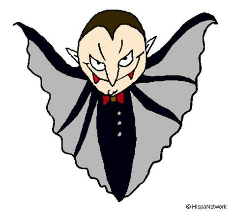 Dibujo de Vampiro terrorífico pintado por Dayana en ...