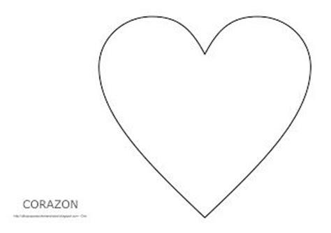 Dibujo del corazón para imprimir, colorear y pintar | San ...