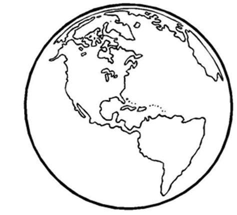 Dibujo del planeta tierra para imprimir   Imagui